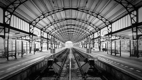 Haarlem: Station westperron 1 van Olaf Kramer