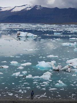 Jokulsarlon IJsland van