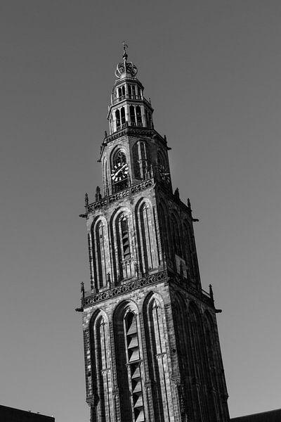 Olle Grieze (zwart-wit) 2 van Iconisch Groningen