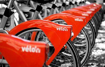Vélo'v von Sander van der Werf