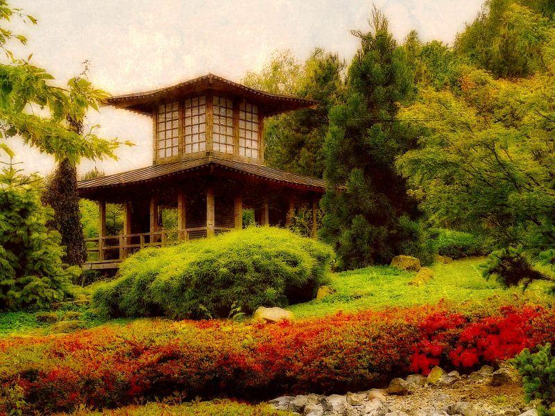 Japanischer Garten van Gabi Siebenhühner