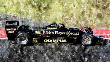 Mario Andretti, Lotus von Theodor Decker