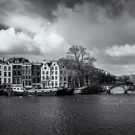 Keizersgracht Amsterdam Stadsfoto Gracht van Ipo Reinhold