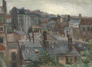 View from Vincent's Studio, Vincent van Gogh sur