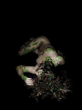 Bildende Kunst - Porträt Vergänglichkeit - Erde von Joost van Lieshout