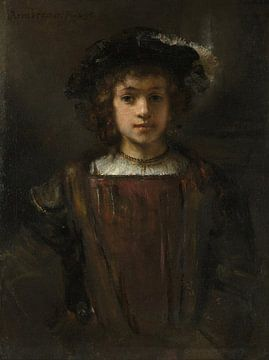 Rembrandts Sohn Titus (1641-1668), Stil von Rembrandt