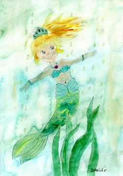 De kleine zeemeermin van Sandra Steinke