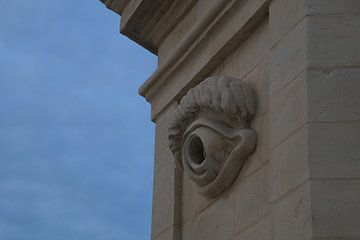 Il-Gardjola, uitkijktoren, Birgu, Three Cities, Malta  van Maurits Bredius