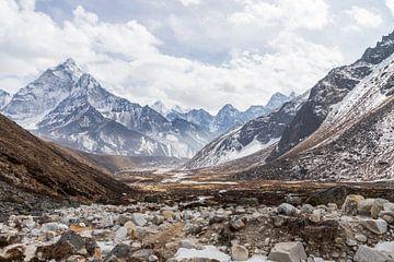 De mooiste valei van Pheriche Oost Nepal van Ton Tolboom