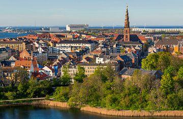 Uitzicht op Kopenhagen van Adelheid Smitt