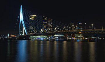 Erasmusbrug bij nacht van MK Audio Video Fotografie