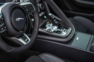 Jaguar F-Type Coupé R interieur van Bas Fransen