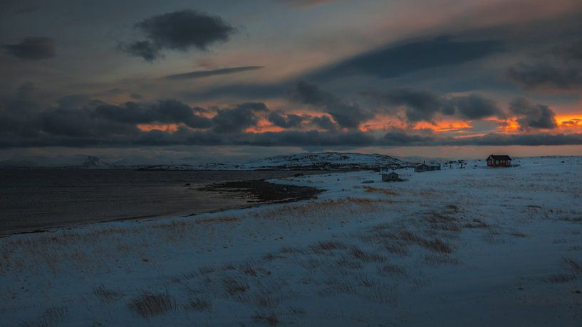 Noordkaap landschap van Andy Troy