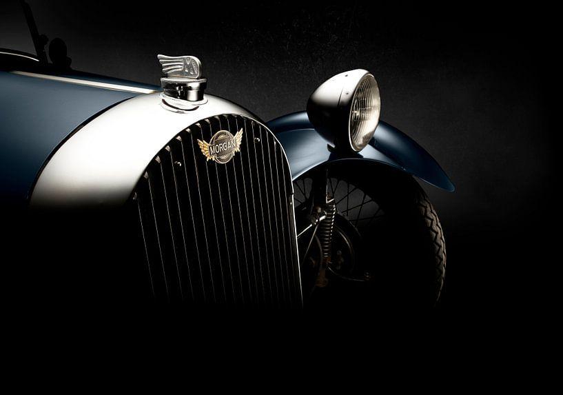 1946 Morgan F-Super Three Wheeler. van Thomas Boudewijn