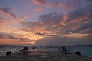 Rhodian Sunset van Silvia van Zutphen