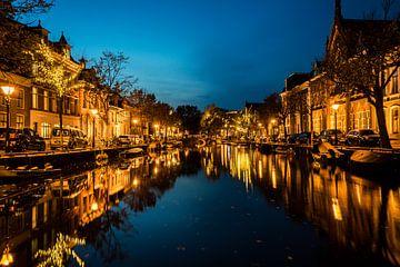 Reflexionen im Kanal von Alkmaar von Buis Photography