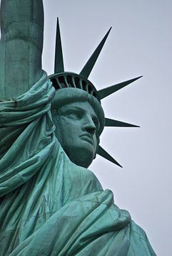 Het vrijheidsbeeld - New York, Amerika van Maurits Simons
