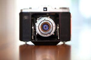 Oude camera Nettar II 517/16 1949