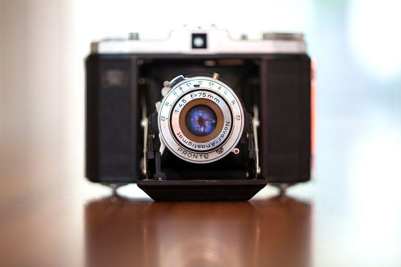 Oude camera Nettar II 517/16 1949 van Pieter Wolthoorn