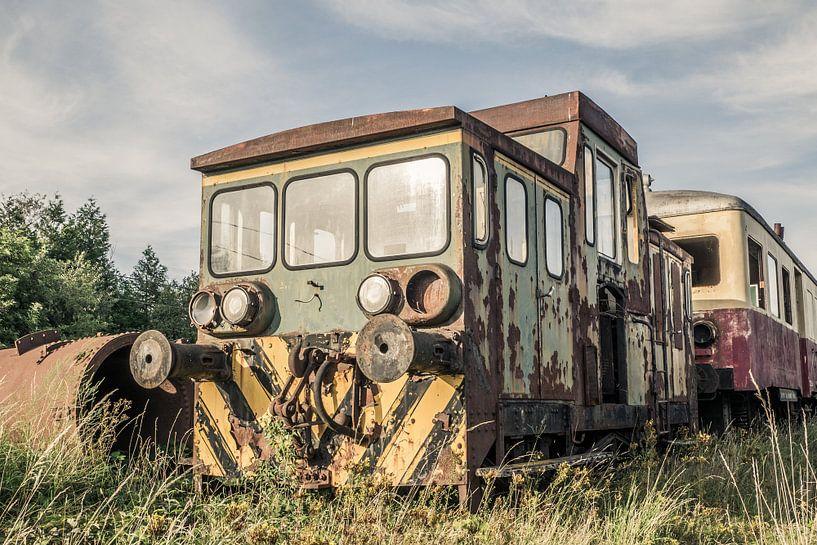 Verlassene Lokomotive von Art By Dominic