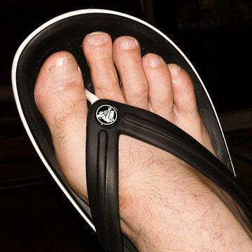 zwart voetje van Aart van Wijk