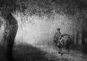 Man met paard von Leonie Kuiper