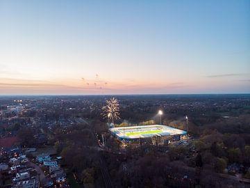 Stadion de Vijverberg 9 van Gerrit Driessen