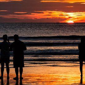 Sunset in Bali sur Brenda Reimers