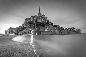 Le Mont Saint Michel van Rene Ladenius