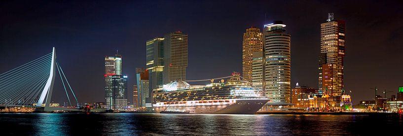 Cruiseschip panorama van Anton de Zeeuw