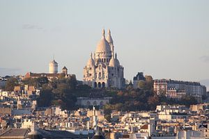 Uitzicht op de Sacré Coeur, Parijs