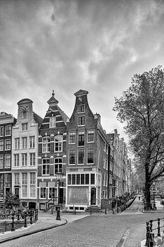 Grachtenpanden aan de Keizersgracht – Leidsegracht – Amsterdam van Tony Buijse