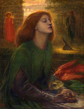 Dante Gabriel Rossetti. Beata Beatrix