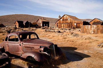 Spookstad Bodie, Californië van Peter Schickert