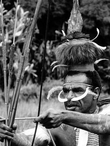 Dani Tribe warrior