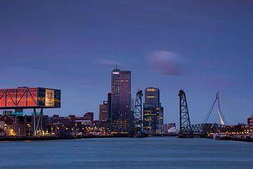 Skyline van Rotterdam van René Groenendijk