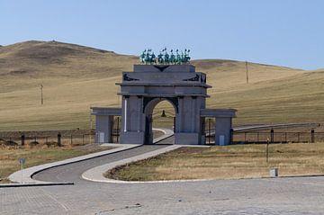 poort naar monument  van