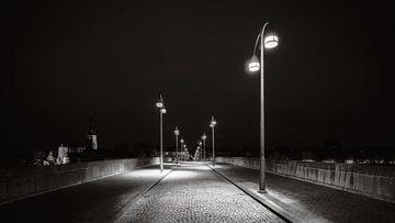Maastricht - Sint Servaasbrug - moody zwart en wit I