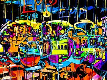 Graffiti aan de haven - motief 5