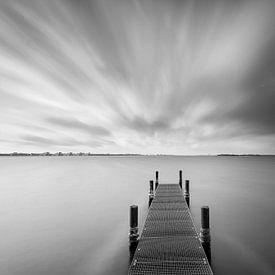 Dock auf dem Gooimeer von Arjan Keers