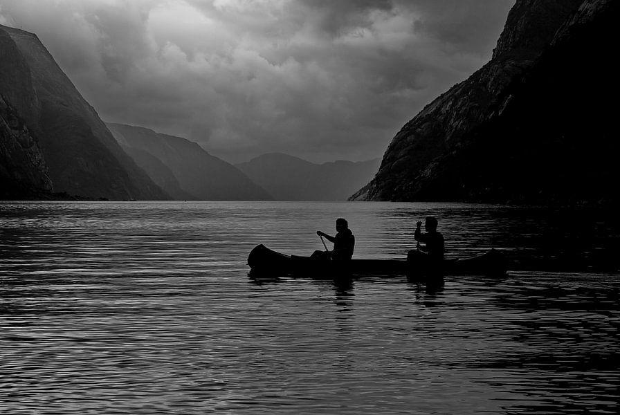Lysebotn Fjord Norway van Ron de Poorter