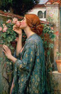 De ziel van de roos, John William Waterhouse