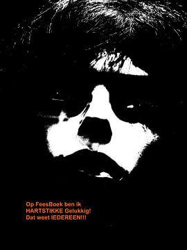 Dolende Dertigers: Hartstikke Gelukkig op FeesBoek! van MoArt (Maurice Heuts)