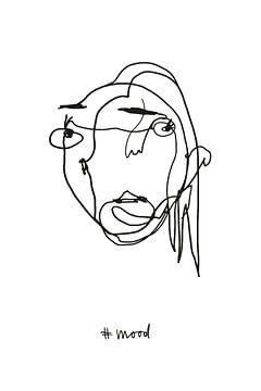 Krabbelillustratie nr.01 van c.creates