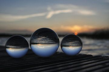 Glazen bollen von Jacob Raymond de Boer