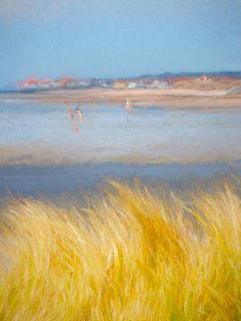 Zomerbreek in de Normandië van Andreas Wemmje