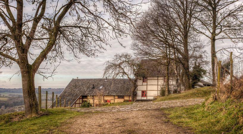 Vakwerkhuisje in het Geuldal van John Kreukniet