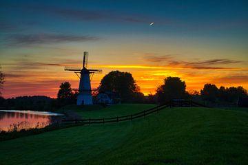 vroege zonsopkomst van Bart Nikkels
