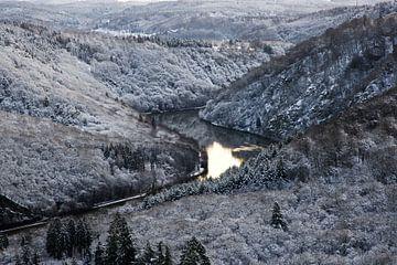 Saarschleife im Winter