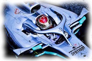 Lewis Hamilton #44 - 2019 van Jean-Louis Glineur alias DeVerviers